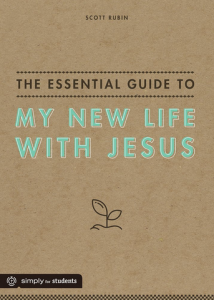 New Life with Jesus SCOTT RUBIN