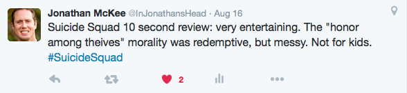 Jonathan McKee Tweet