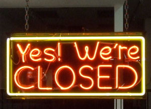 sorry-we're-closed